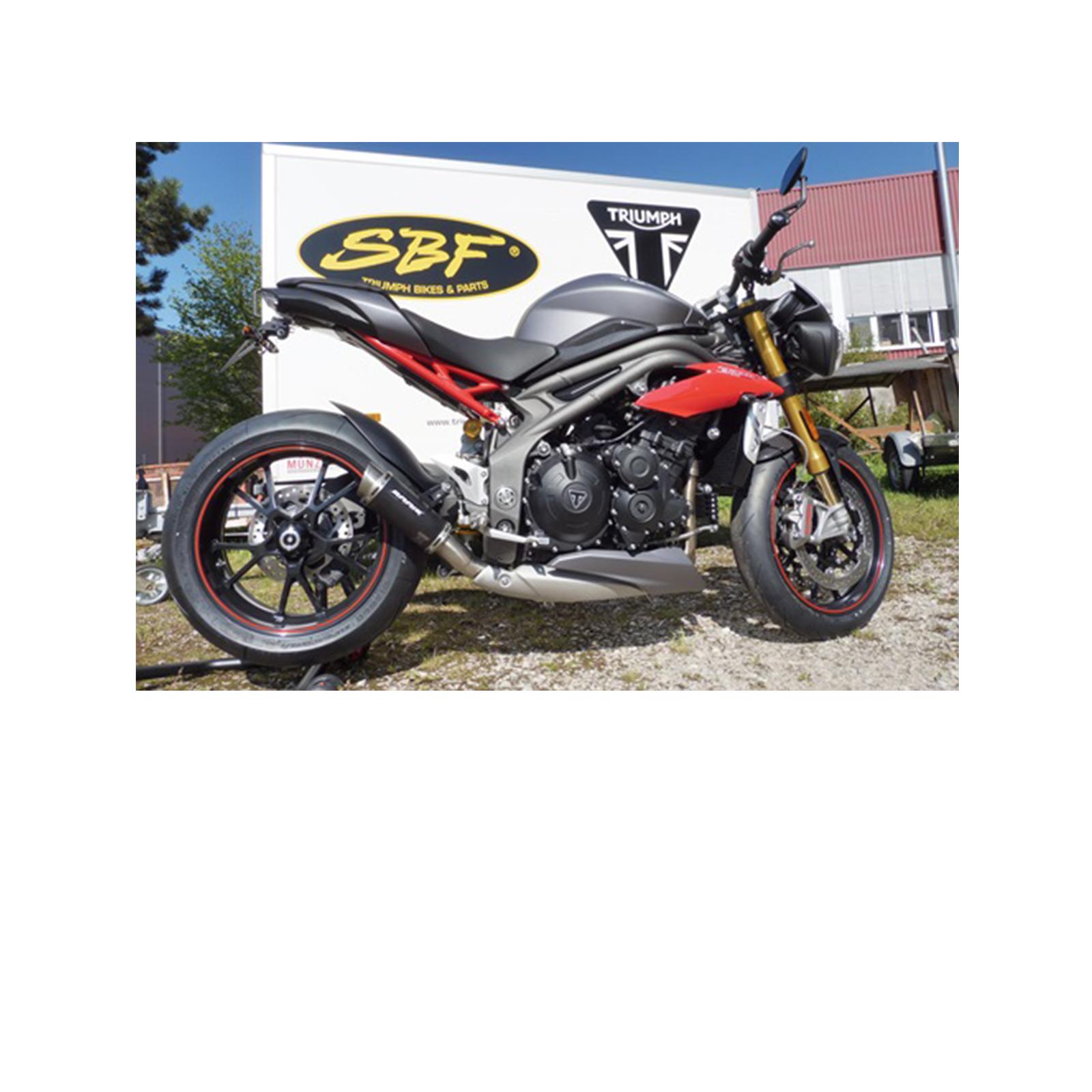 Bodis GPC-RSII Slip-On Speed Triple 1050 S/R