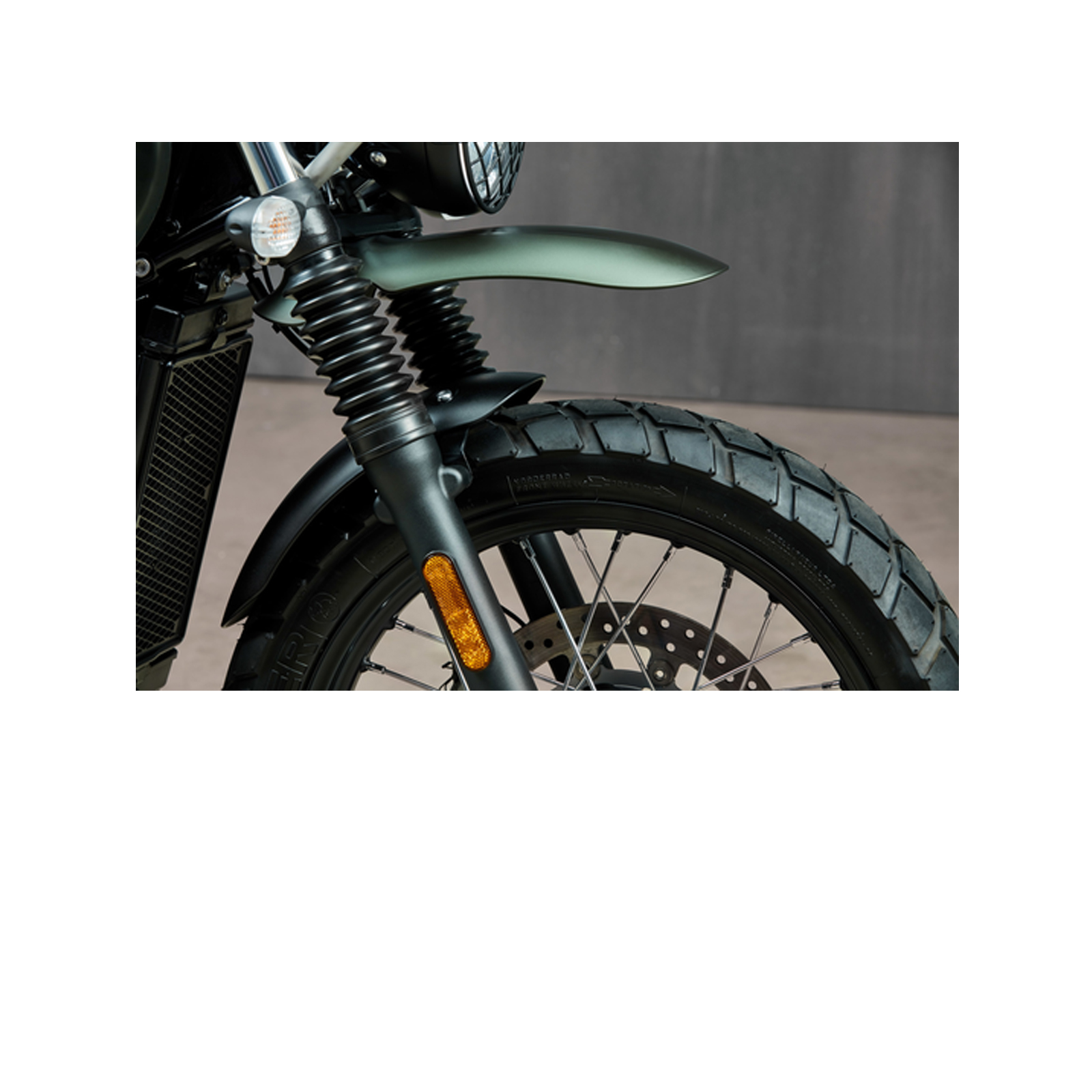 Hoher Front Fender